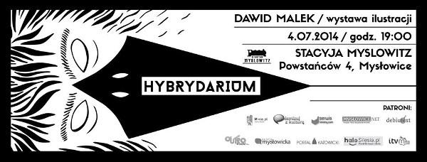 Wystawa ilustracji Dawida Malka – HYBRYDARIUM