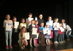 Sukces podopiecznej MOK w polsko-czeskim konkursie plastycznym