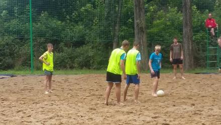 Wakacyjny obóz sportowy juniorów Górnika 09