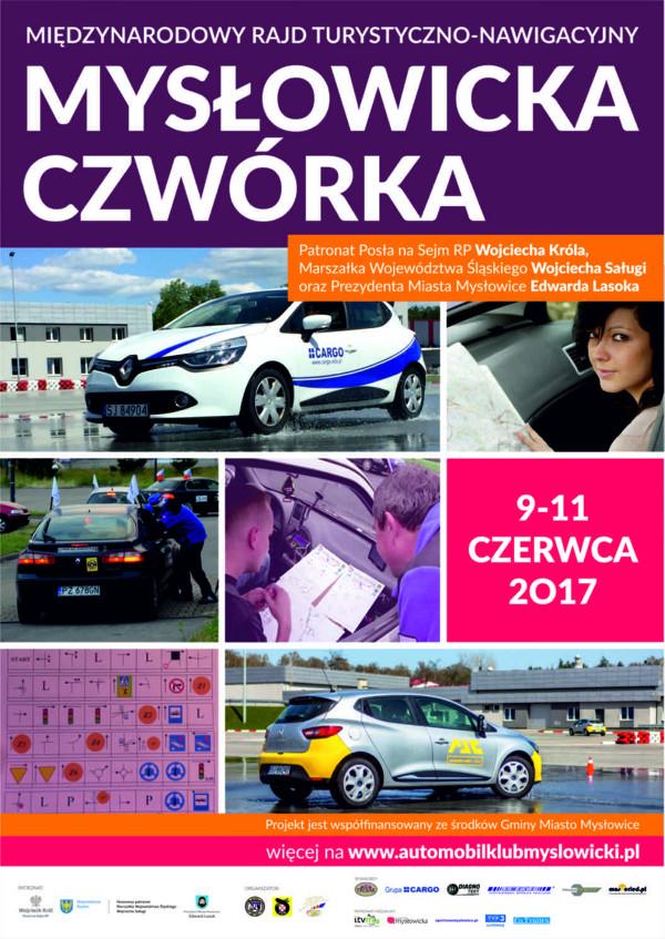 """Międzynarodowy rajd turystyczno-nawigacyjny """"Mysłowicka Czwórka"""""""