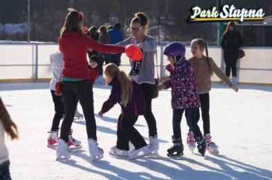 Otwarcie nowego sezonu ślizgawki w Parku Słupna