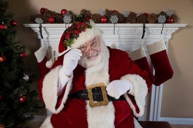 Święty Mikołaj na Kulturalnej Ławce