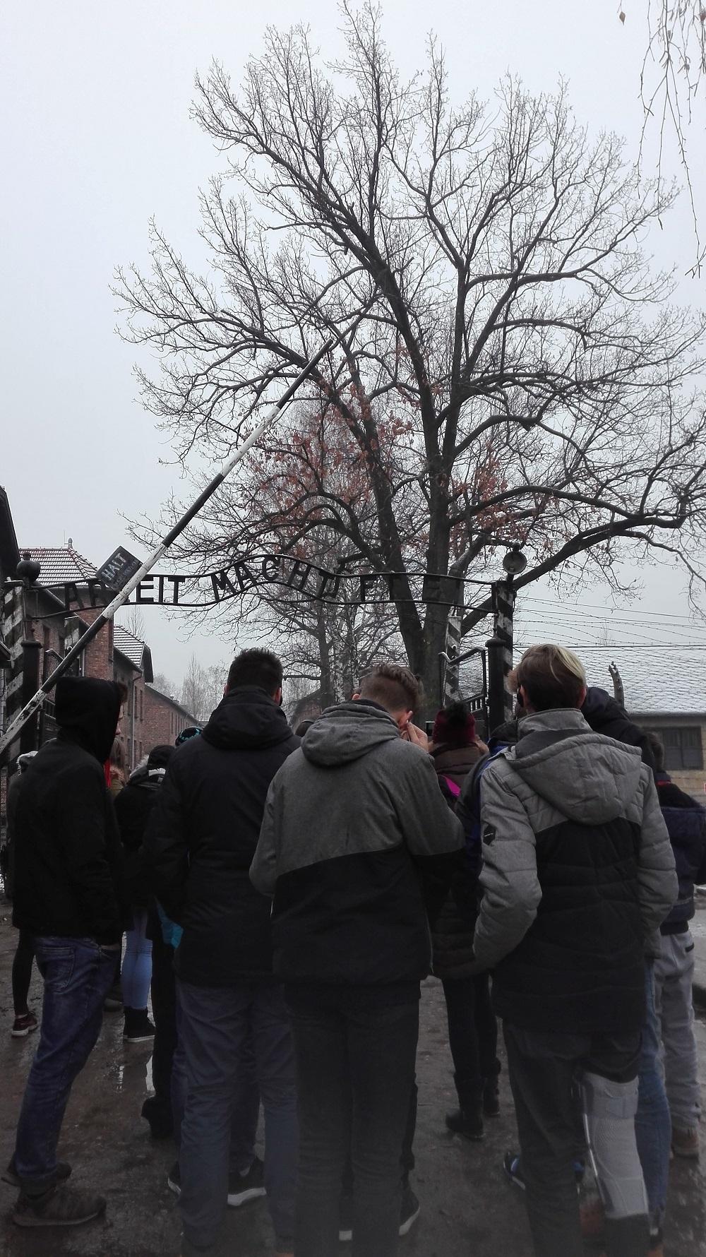 Wizyta uczniów w Auschwitz-Birkenau