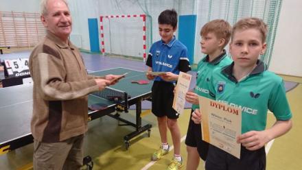 Zawody rejonowe w tenisie stołowym