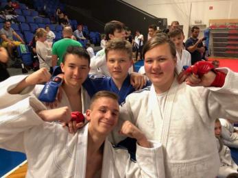 Zawody Ligii Dzieci i Młodzieży w ju jitsu