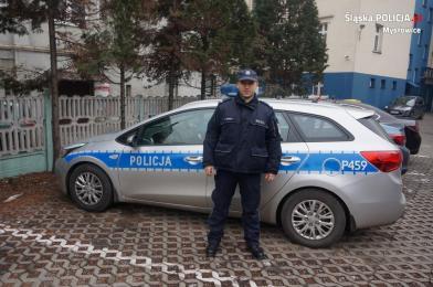 51-letni sprawca podpalenia pojemnika na odpady w Mysłowicach zatrzymany