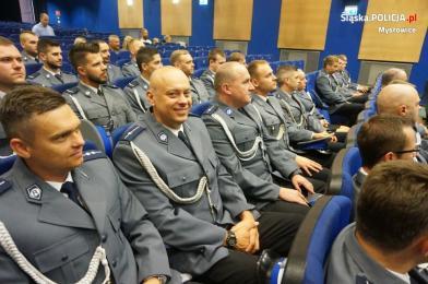Święto Policji w mysłowickiej jednostce