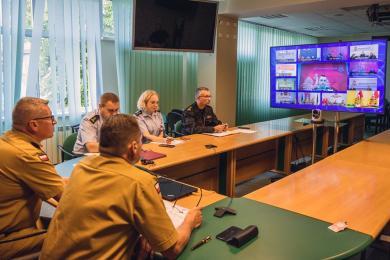 #SzczepimySię z OSP - wideokonferencja poświęcona realizacji programu
