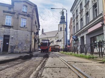 Ruszyła przebudowa linii tramwajowej nr 14 – zmiany w organizacji ruchu