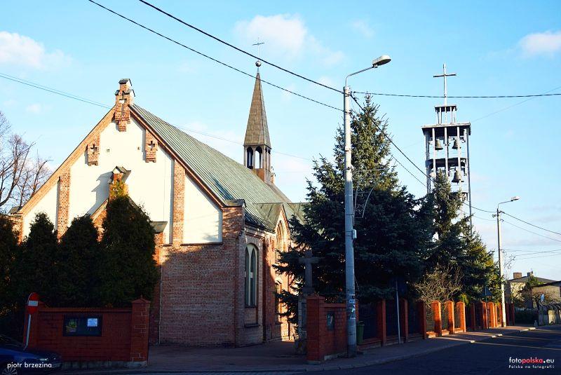 Brzezinka - Kościół pw. Nawiedzenia Najświętszej Maryi Panny