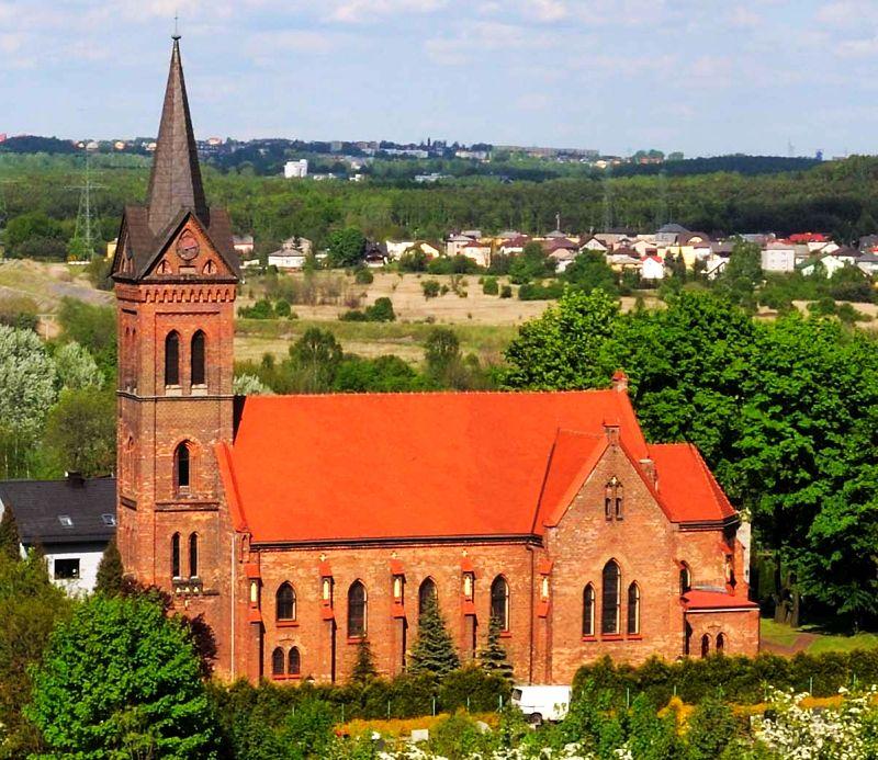 Dziećkowice - Kościół pw. Wszystkich Świętych