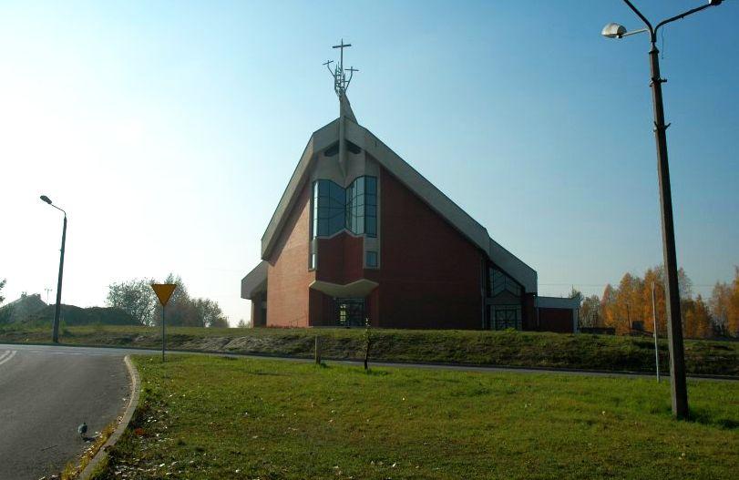 Bończyk-Tuwim - Kościół pw. Ścięcia św. Jana Chrzciciela